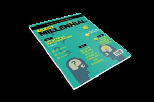 Portada revista de contador millennial mes de octubre