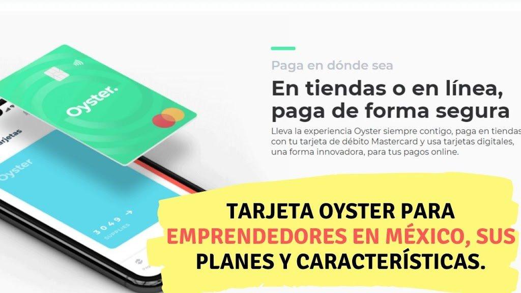 Tarjeta Oyster para emprendedores